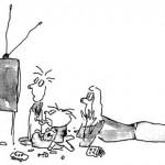 Как телевидение и сцены насилия могут негативно повлиять на ребенка.