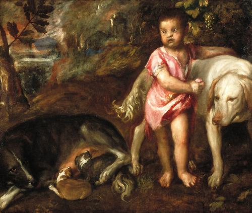 Ребенок не боится собак