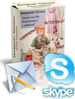 Интернет-Тренинг + e-mail поддержка + Skype поддержка