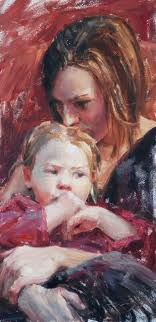 Правильное воспитание ребенка. Дочь с мамой