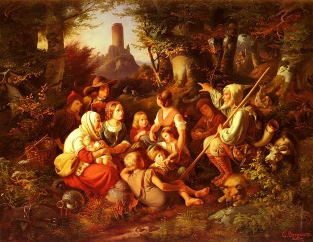 Рассказ для родителей о ребенке. Georg Bergmann - Der Erzahler (The Storyteller)