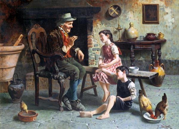 История для родителей о детях. Jules Zermati - The Storyteller