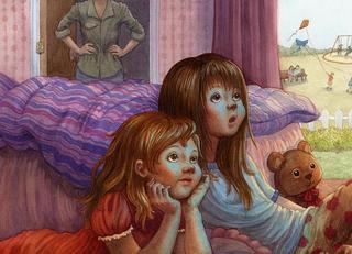 Телевизор в нашей жизни. Дети смотрят телевизор.