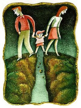 Как помочь детям пережить развод родителей.
